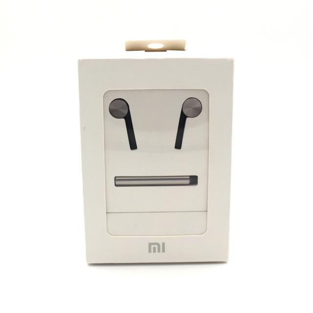 100% original xiaomi piston auricular con micrófono auriculares híbrido mi pistón teléfono auriculares para el iphone samsung xiaomi mi 3 4 mp3 pc
