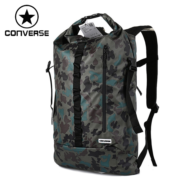 Original New Arrival 2017 Converse Unisex Camouflage Backpacks Sports Bags new arrival iron