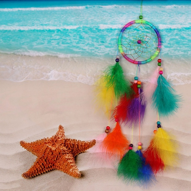 White Wind Chimes Dream Catcher