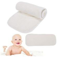 Pieluchy dla dzieci 4 warstwy wkładki z włókna bambusowego wkładki na pieluchy miękkie wygodne pieluchy dla niemowląt pieluchy dla niemowląt pieluchy dla niemowląt tanie tanio Zmiana notatniki i obejmuje 7-9 miesięcy 0-3 miesięcy 19-24 miesięcy fibra SD799539 Made in China