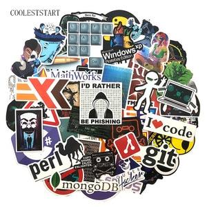 Image 2 - 72Pcs/Pack Programmer Graffiti Stickers Hacker Programming Java For Luggage Skateboard Laptop Motorcycle PVC Sticker For Kid