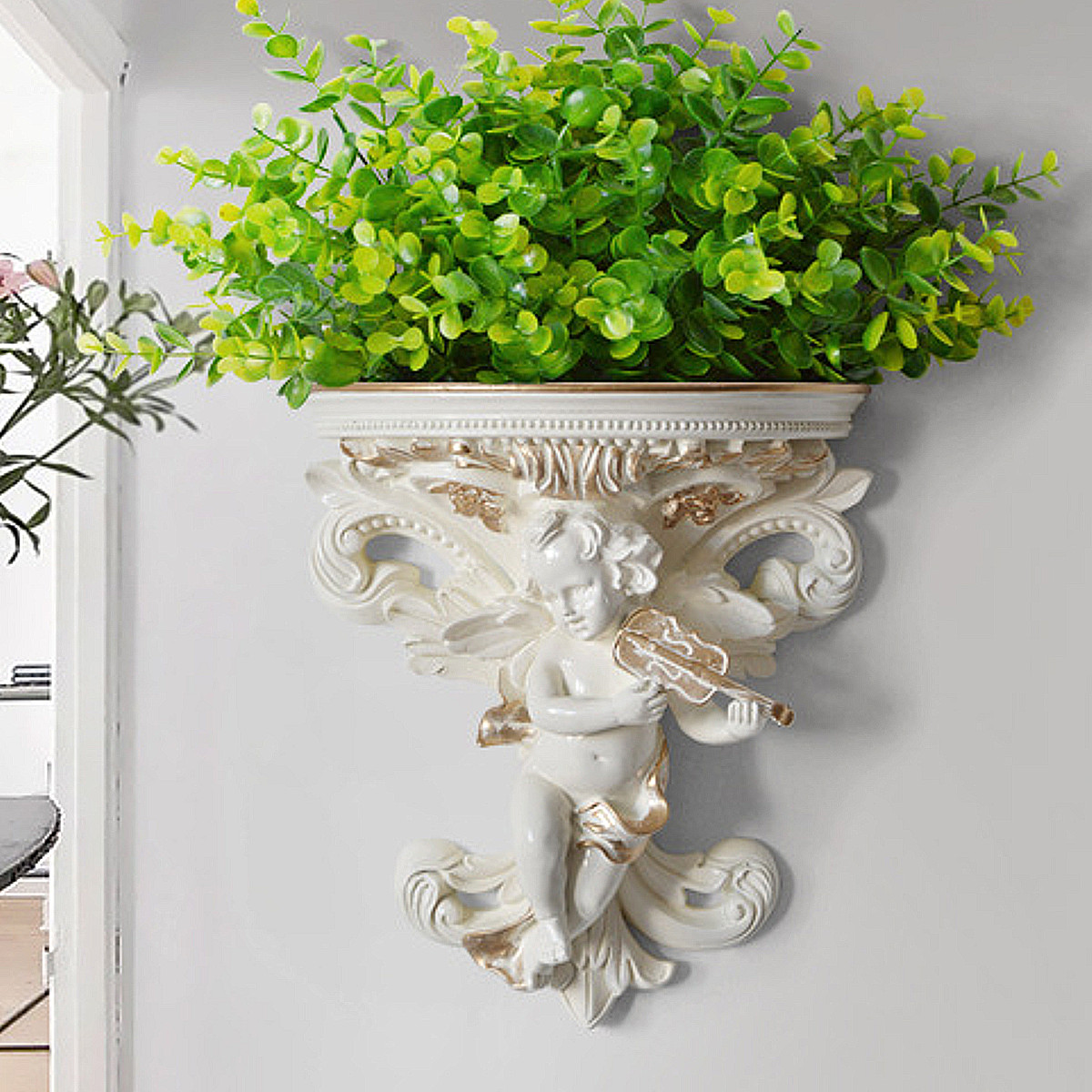 Europeu decoração de casa adesivos anjo tridimensional