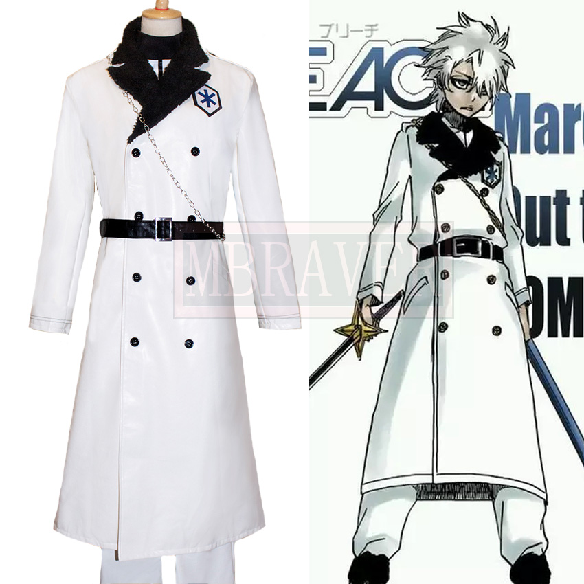 Bleach Hitsugaya Toushirou Cosplay Costumes Party Halloween Christmas Cos Customize Any Size