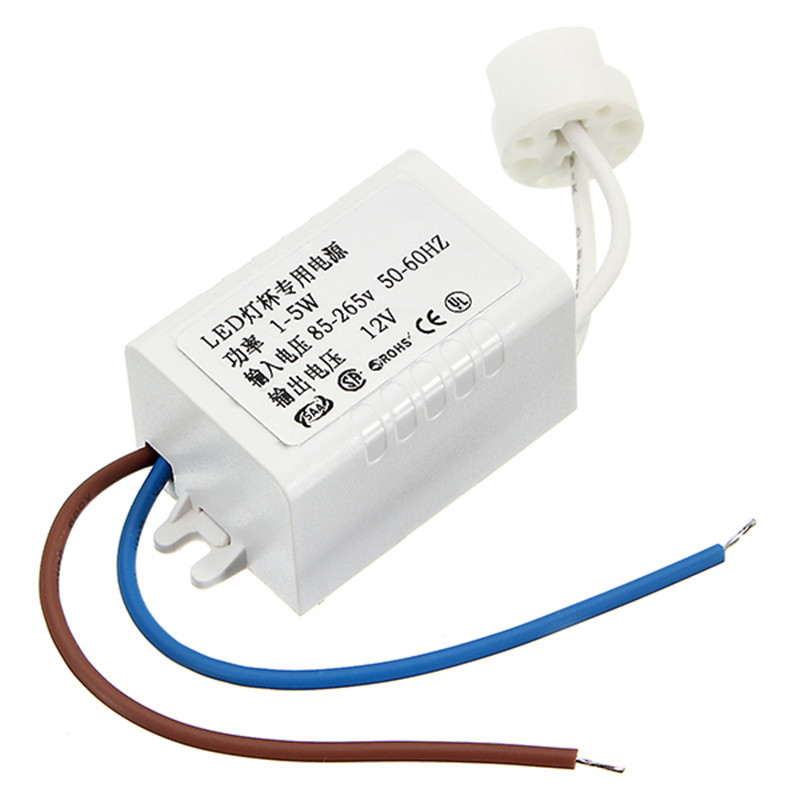 LED High Power Electronic Transformer 85-265V to 12V Lamp Cup MR16 G4 1-5W LED Driver Power Supply Dedicated Spotlight 10pcs 3x3w led mr16 driver 3 3w transformer power supply for mr16 12v lamp power 3pcs 3w led high power lamp led free ship page 7