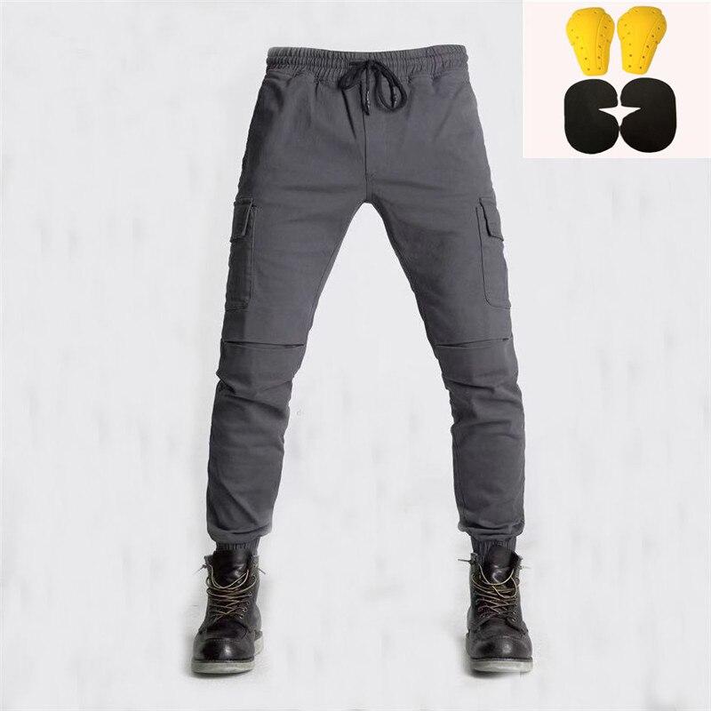 Vitesse SCORPION KOMINE hommes motocyle pantalon KTM descente Motocross pantalon pour Moto Moto Jeans avec genouillère pantalon Moletom
