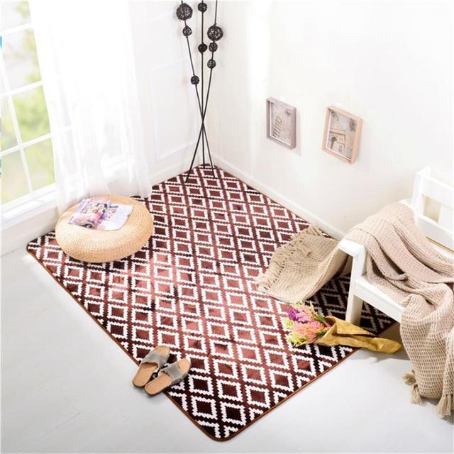 150X190CM Phalle Velvet Carpets For Living Room Bedroom Rugs And ...