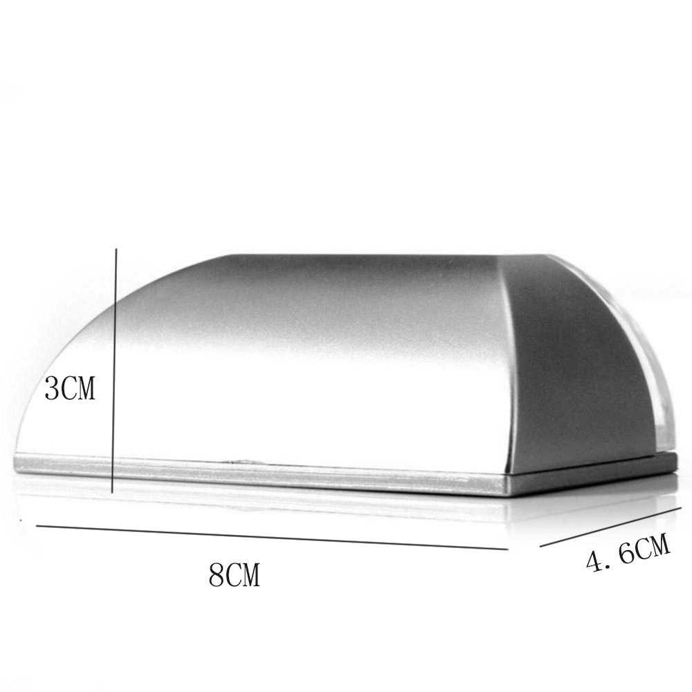 Auto PIR Door Keyhole Motion Sensor Detector LED Light Lamp Silver For 1*AA  battery 4 Leds Led Sensor Motion Lamp Night Light
