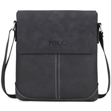 2019 New PU Leather Messenger Bag for Man and Business Travel Bags Good Quality Mens