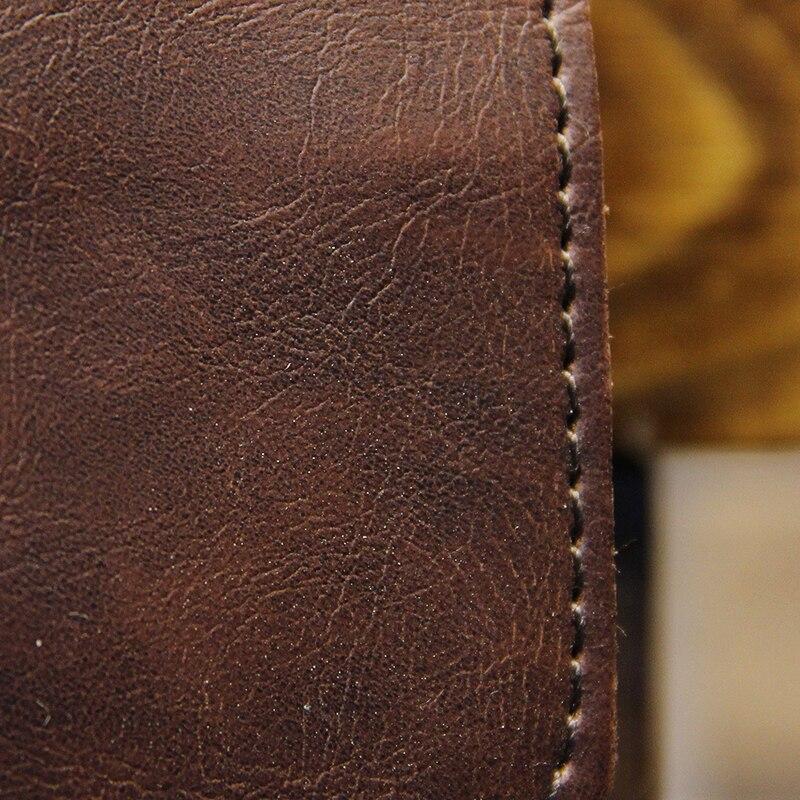 "Vintage Men s Bag Crazy Horse PU Leather File Briefcase Men Messenger Bags Coffee Color Fashion Vintage Men's Bag Crazy Horse PU Leather File Briefcase Men Messenger Bags Coffee Color Fashion Portfolio 12"" Laptop Handbag"