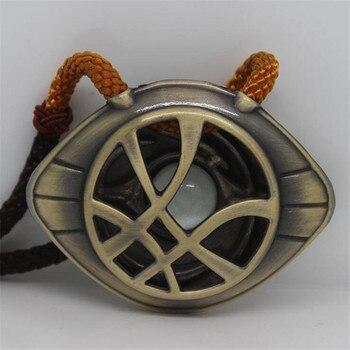 Кулон Доктор Стрэндж Глаз Агамотто на шнурке В Ассортименте