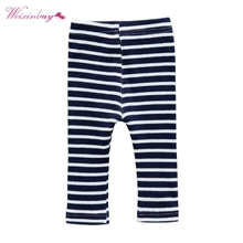 цена WEIXINBUY Brand Warm Pants Infant Baby Boys Girls Cotton Cute Striped Trousers Bottom Knitted Leggings Pants Outwear 3 Colors онлайн в 2017 году