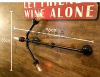 Water pipes Iron wall light pipe wall bar arrow engineering design studio creative original American country SG14