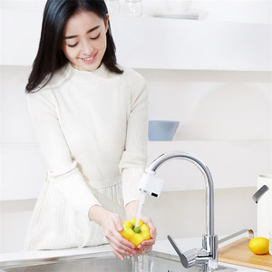 Image 5 - Xiaomi Zajia Induction Water Saving Device adjustable Overflow Smart Faucet Sensor Infrared Water Energy Saving Device Kitchen