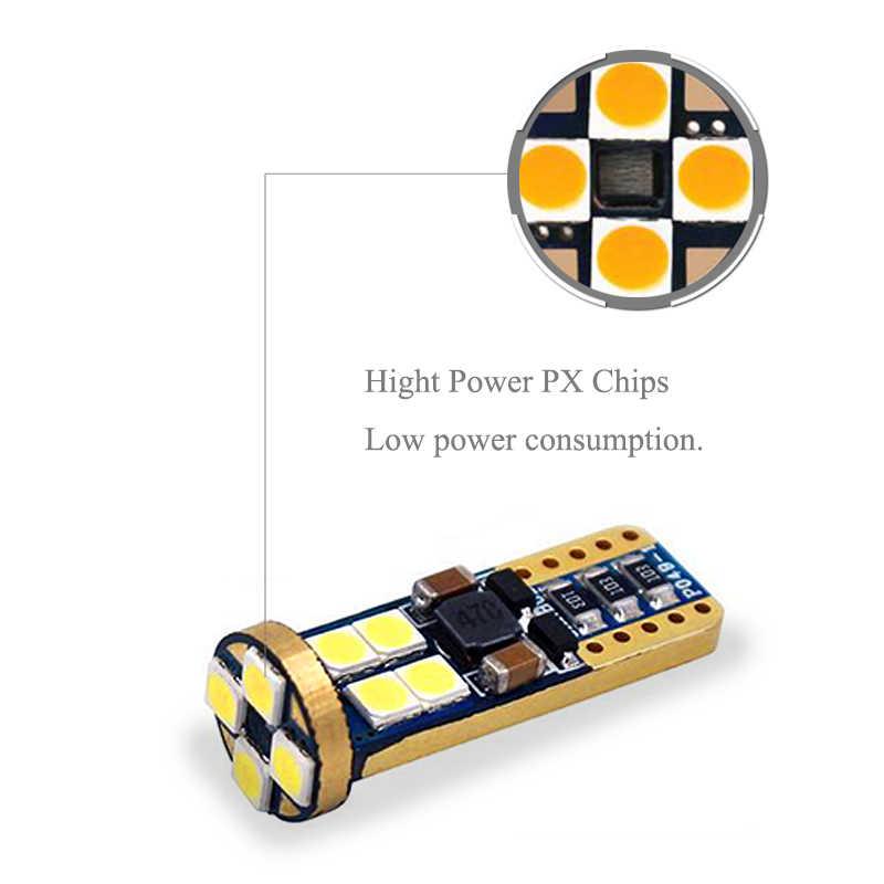 BOAOSI 1x LED T10 W5W lumière de cale de lumière de stationnement de voiture pour Opel Astra h j g Corsa Zafira Insignia Vectra b c d