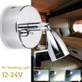 12-24 v Einstellbar 180 Drehen Led-strahler Home interior Spot Lesen Licht Kippschalter für RV Lkw Boot caravan