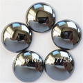 10pcs 25x6mm Beautiful Black Hematite Round CAB CABOCHON R0048922