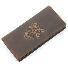 Fashion Men Visiting Cards Wallets Women's Retro Genuine Leather Wallet Holder Women Purse Ladies Coin Bag Men's Clutch Purses