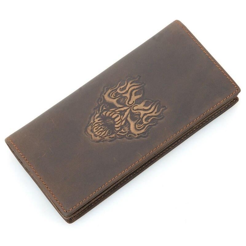 Fashion Men Visiting Cards font b Wallets b font Women s Retro Genuine Leather font b