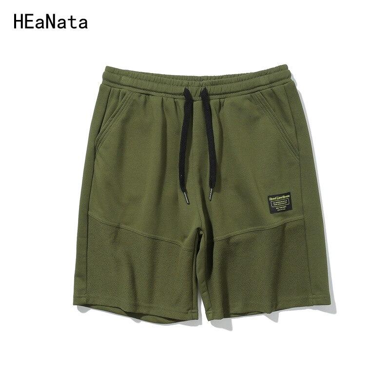Summer Shorts Men Breathable Casual Mens Patchwork Cargo Trousers Elastic Waist Beach Shorts Jogger Board Short Pants EU Size XL