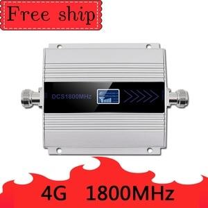 Image 2 - 4G LTE DCS 1800mhz repetidor de celular GSM 1800 60dB ganar teléfono móvil de GSM 2G 4G amplificador Antena de látigo