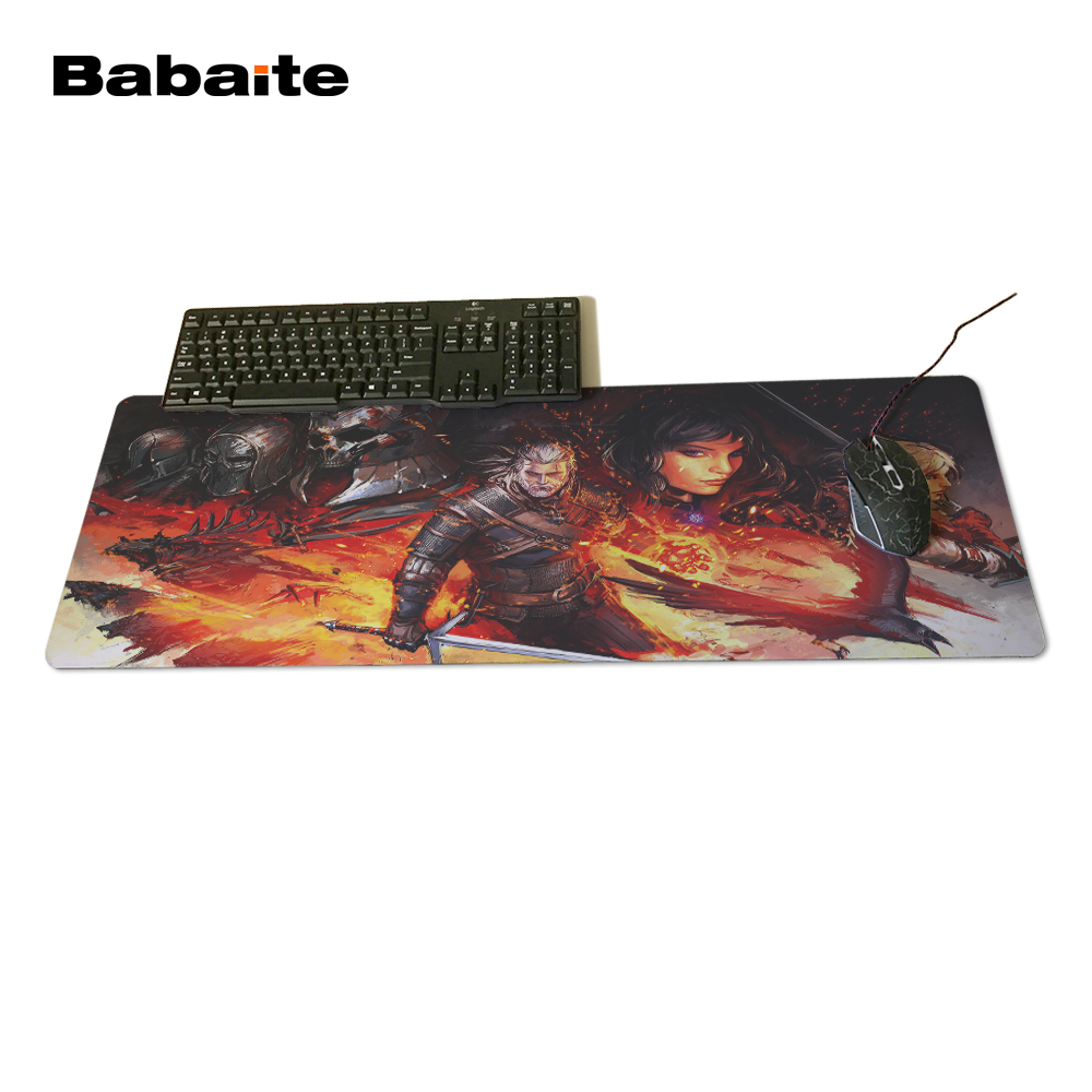 The Witcher 3 Wild Hunt Gaming Mouse Pads Anti-slip Optical Gamer Speed Mice Play Mats