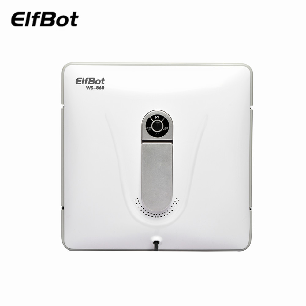 Elfbot WS860 робот для уборки окон, мощный всасывающий пылесос, мощный автоматический робот-пылесос для уборки - Цвет: White
