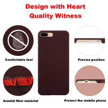Étui en Fiber daramide coloré Ultra mince pour iPhone X couverture motif en Fiber de carbone en caoutchouc mat pour iPhone 7 8 7 plus 8 plus