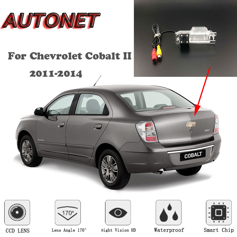 AUTONET HD Night Vision Backup Rear View Camera For Chevrolet Cobalt II 2011-2014  NTSC For Tuning / CCD / RCA Standard