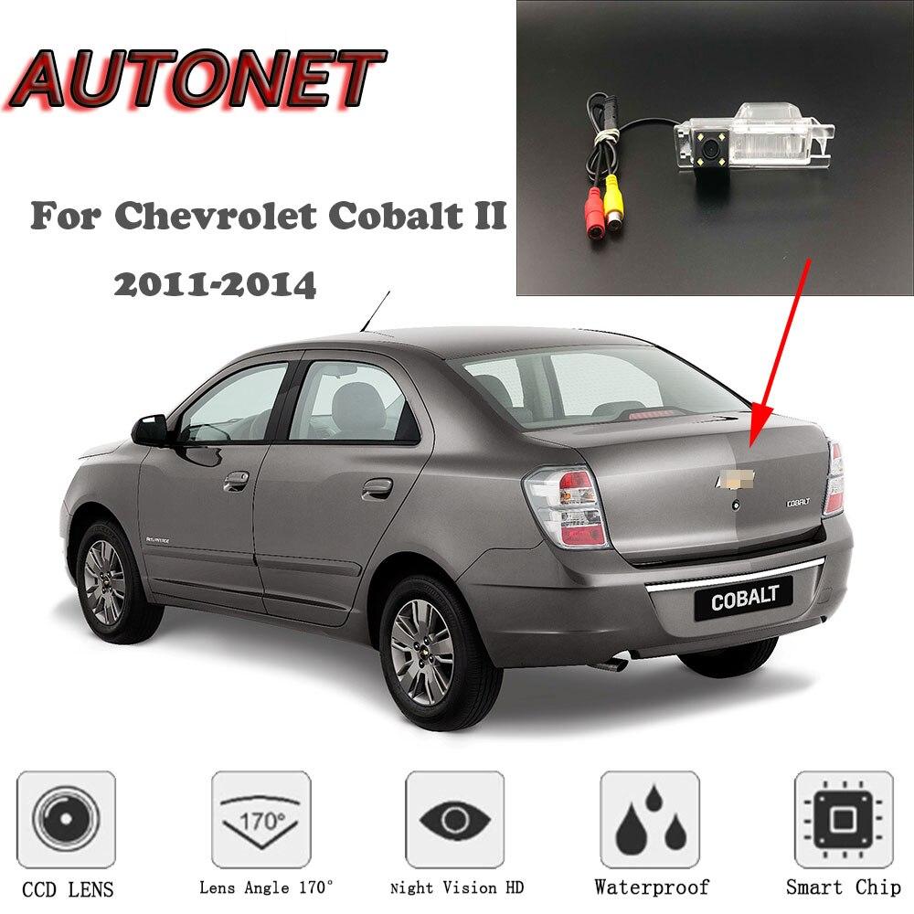 Autonet hd visão noturna backup câmera de visão traseira para chevrolet cobalt ii 2011-2014 ntsc para tuning/ccd/rca padrão
