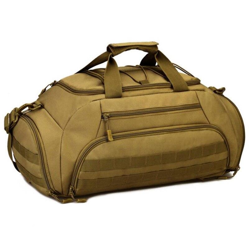 Sac de voyage en plein air tactique militaire sac de voyage 35L grande capacité bagages voyage sacs de voyage multi-fonction Camping sac à dos