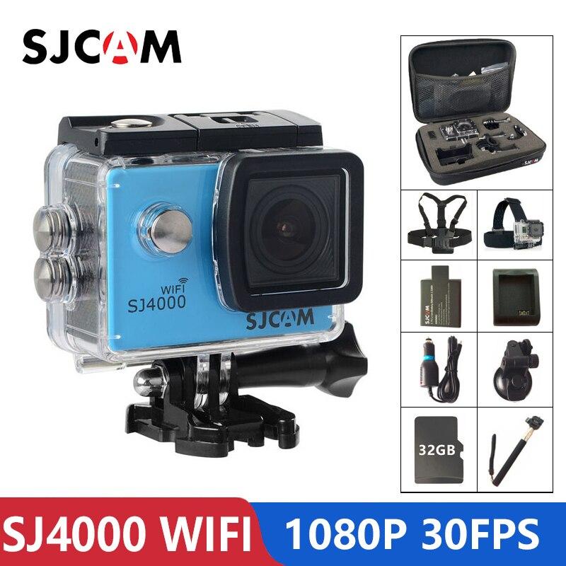Original SJCAM SJ4000 WiFi Action Camera 2 0 inch LCD Screen 1080P HD Diving 30M Waterproof