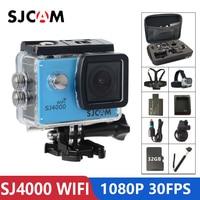 Оригинальная SJCAM SJ4000 Wi-Fi экшн-Камера 2,0 дюймов ЖК-дисплей Экран 1080 P HD камера для дайвинга на глубину до 30 м Водонепроницаемый мини видеокамер...
