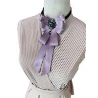 Neck Tie For Women 2017 Fashion Women Girls Cute Party Adjustable Bow Neck Tie Decorative Bowtie Necktie Gift Shirt Accessories