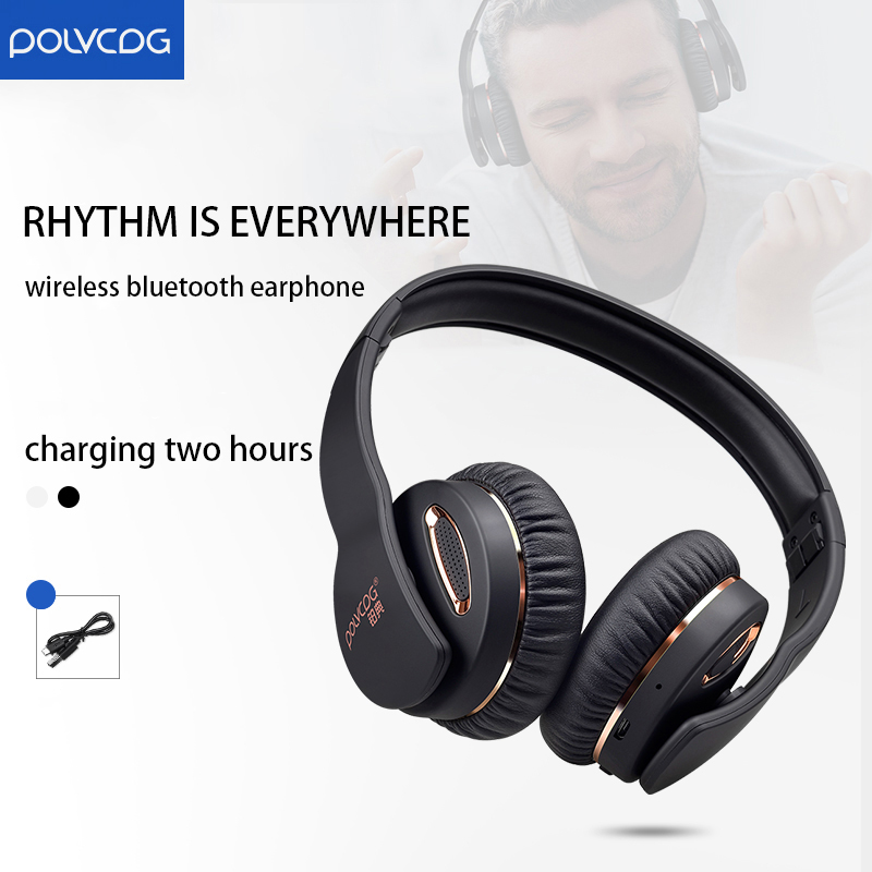 Wireless Bluetooth headphone Computer Phone Universal Microphone Sports Game Music Headset Noise Cancelling Business Earphone in Headphone Headset from Consumer Electronics