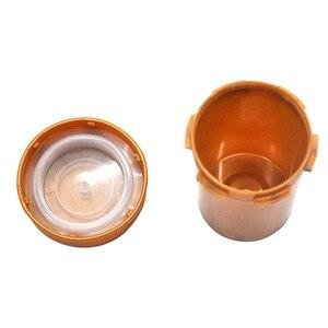 Image 5 - 푸시 다운 및 턴 바이알 컨테이너 아크릴 플라스틱 스토리지 은닉 항아리 병 병 상자 상자 허브 컨테이너