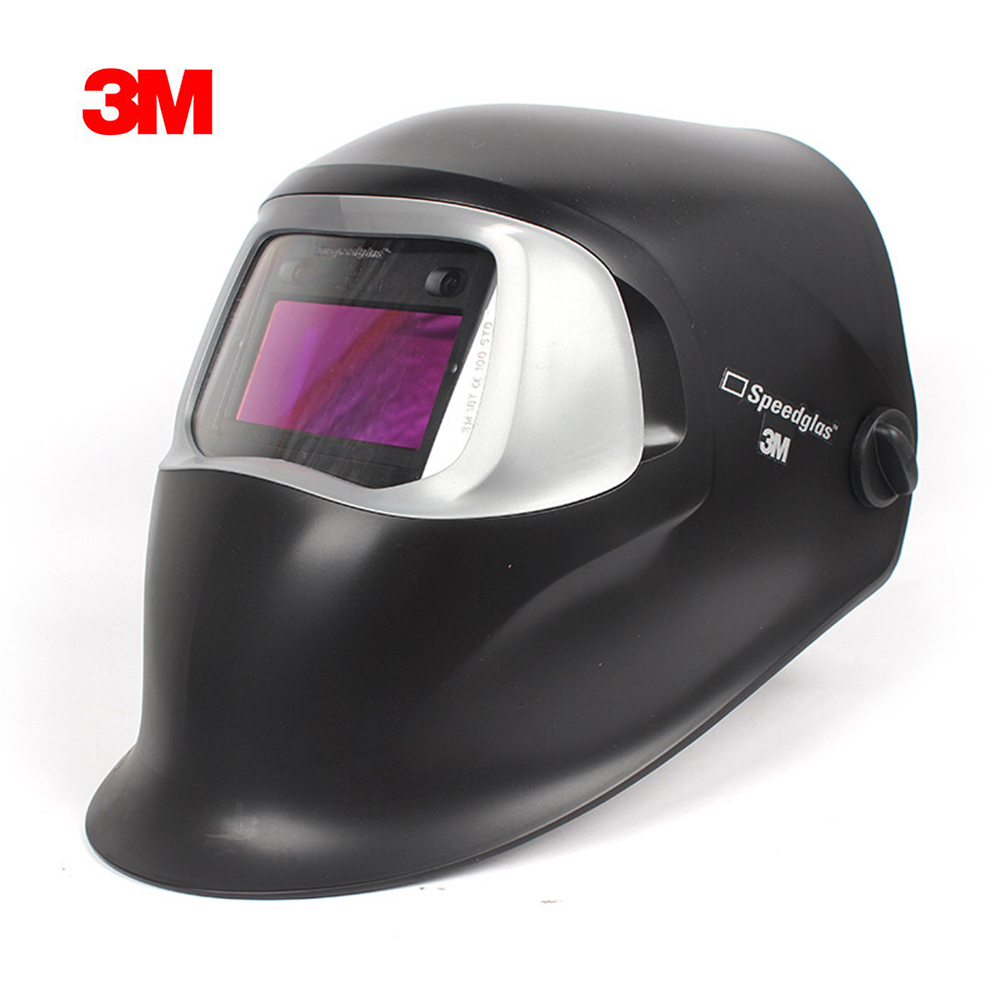 3M Speedglas 100V Black Welding Helmet Welding Shield with Auto-Darkening Filter Shades 8-12(China)