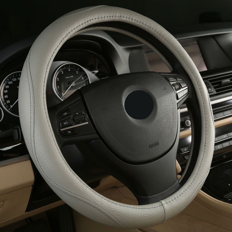 Hot Sell Leather Auto Car Steering Wheel Cover Anti catch for Mercedes Benz gla class GLA200 GLA260 GLK300 GLK260 x204-in Steering Covers from Automobiles & Motorcycles    3
