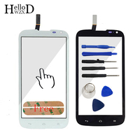 Touch Screen Glass Digitizer Panel For Huawei G610 C8815 Lens Sensor Touchscreen Front Glass Replacement Adhesive