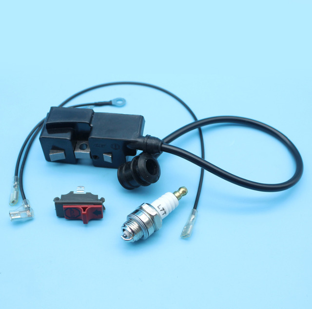 Ignition Coil Spark Plug Kill On/off Stop Switch For Husqvarna 365 ...