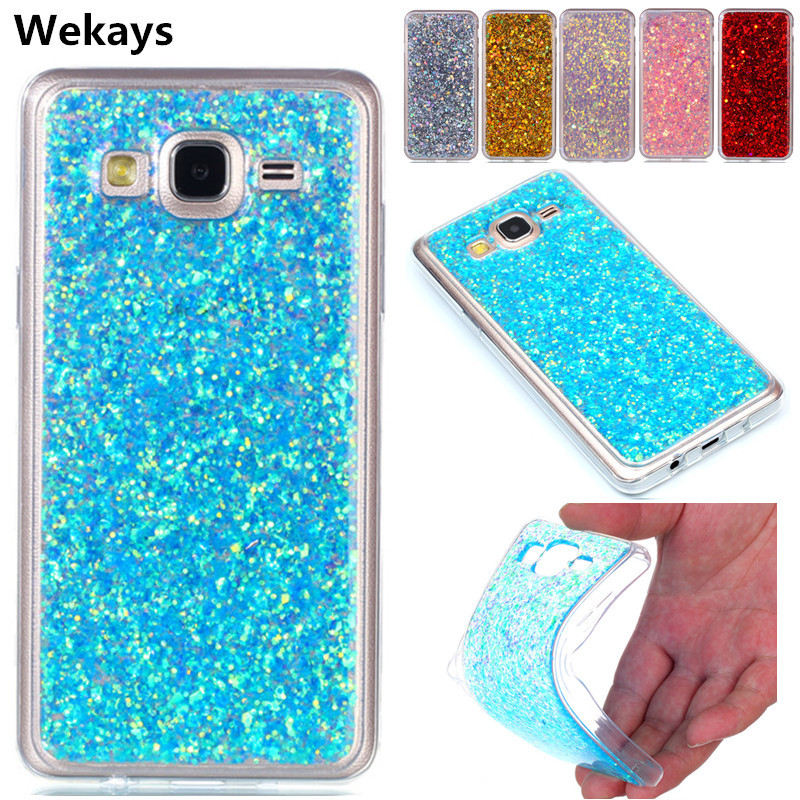Wekays Case For Samsung Galaxy J1 Mini Prime J106F Bling Glitter Fundas Cases For Coque Samsung Galaxy On5 On 5 G5500 Cover Case