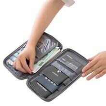 Travel Passport Wallets Credit Card Cover Large Capacity Waterproof Document Organizer Travel Accessories Passport Holder цена в Москве и Питере