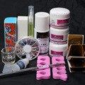 14 Шт./компл. ногтей косметика для макияжа, набор Акриловая Пудра жидкость nail extension make up tool kit
