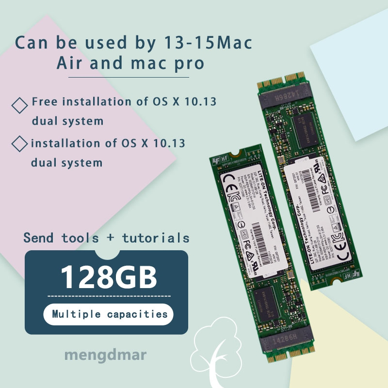 NEW 128GB SSD For Macbook Air 2013 2014 2015 A1465 A1466 imac PRO 2013 2014 2015