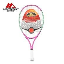 Marktop Tennis Rackets Man Carbon Fiber Training Adult Racquet Equipped with Bag High Quality Tennis Women Aluminum Alloy M3282