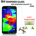 1PCS Screen Protector Tempered Glass for Samsung Galaxy S5 I9600 9H 0.33mm 2.5D Anti Fingerprint Protective Film