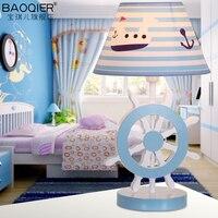 Настольная лампа творческий мультфильм животных модные дети мальчики девочки номер люстры Led спальня исследование cl