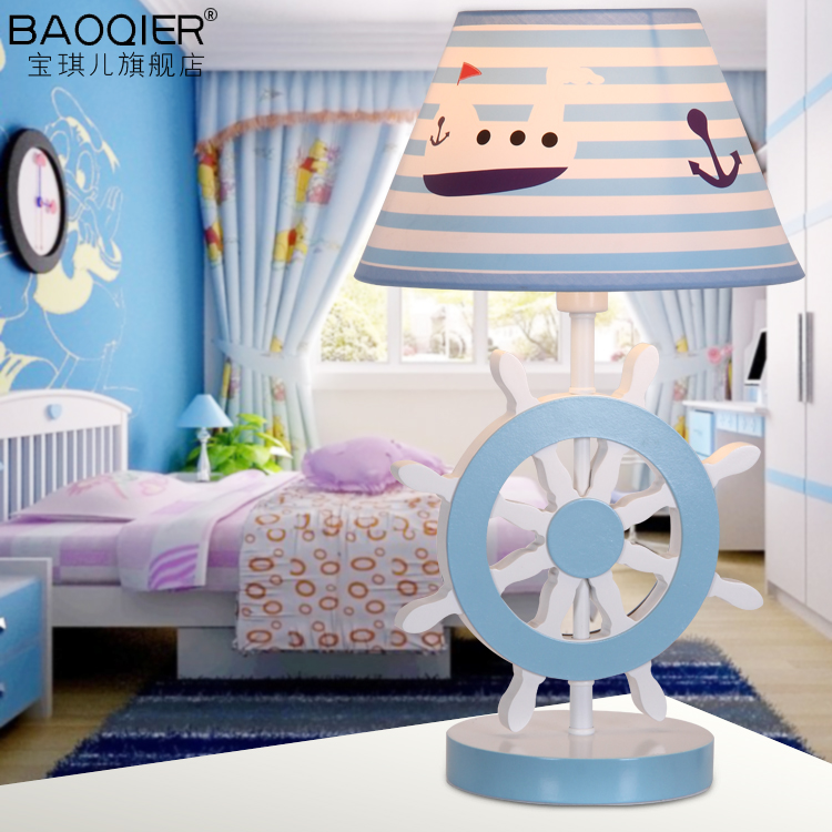 Table lamp creative cartoon animal fashion personality children boys girls room chandeliers led bedroom study CL