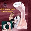 1500 W Mini Garment Steamer Für Kleidung Trocken Reinigung Bügeln Tragbare Kleidung Eisen Dampfer Pinsel Startseite Luftbefeuchter Gesichts Dampfer