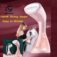 1500W Mini Garment Steamer For Clothes Dry Cleaning Ironing Portable Clothes Iron Steamer Brush Home Humidifier Facial Steamer