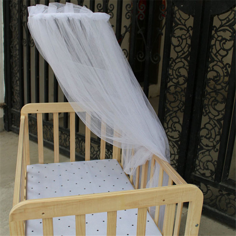 New mosquito Baby <font><b>Toddler</b></font> <font><b>Bed</b></font> or Home Mosquito Net White